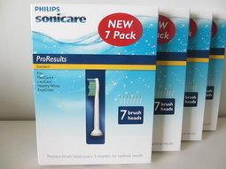 [好市多] PHILIPS 飛利浦 電動牙刷標準型刷頭(HX6017;7支裝)SONICARE REFILLS系列