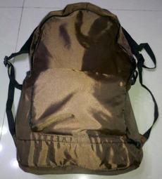 魔術背包(咖啡色)/雙肩後背包 收納方便/愛地雅/Unitech紀念品