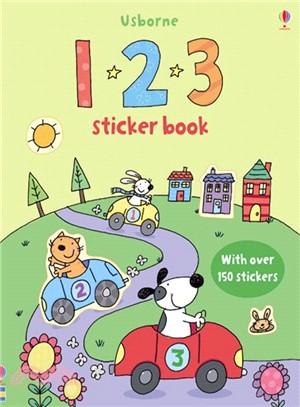 1 2 3 sticker book