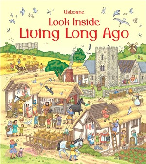 Look Inside Living Long Ago (硬頁書)