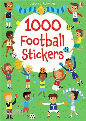1000 Football Stickers (1000 Stickers)