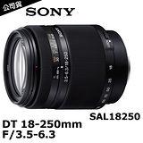 SONY DT 18-250mm F3.5-6.3 變焦鏡頭 (公司貨)-加送62mm UV保護鏡+強力吹球+拭鏡筆+擦拭布