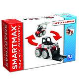 【上誼】比利時smartmax《寶寶磁力接接棒-堆高雲梯車》
