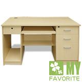 最愛傢俱 經典4呎電腦書桌 (白橡)