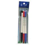 OB-100自動原子筆3入-混色