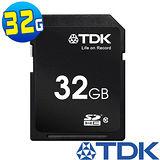 TDK 32GB SDHC Class10 高速記憶卡