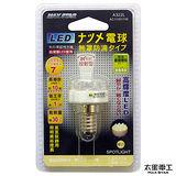 【太星電工】 MAXSTAR LED節能環保無罩燈泡 12LED/E14/1W