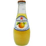 《S.Pellegrino》聖沛黎洛氣泡水果飲料-甜橙口味(200mlx6瓶)