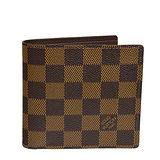 Louis Vuitton LV N61675 棋盤格紋摺疊短夾 預購