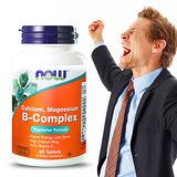 NOW健而婷-綜合B群鈣鎂(60顆/瓶)