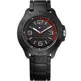 TOMMY HILFIGER Ryder 時尚個性腕錶-黑 M1790944
