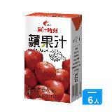 光泉果汁時刻-蘋果汁250ml*6入/組