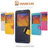BASEUS 倍思 Samsung N900 Galaxy Note 3 信仰側翻皮套-開窗款