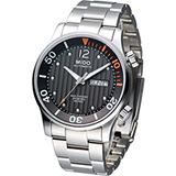 MIDO Multifort 先鋒雙冠潛水機械錶 M0059301106000