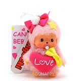 日本Sekiguchi夢奇奇Bebichhichi【Baby糖果】粉色吊飾