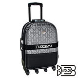 【BATOLON寶龍】25吋-典雅緹花旅行箱/行李箱/拉桿箱