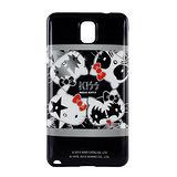 【KISS HELLO KITTY 】Samsung Galaxy Note3 時尚彩繪保護套-搖滾KISS