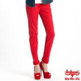 【BOBSON】女款多彩色彈性小直筒褲(8067-13)