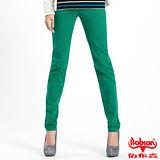 【BOBSON】女款多彩色彈性小直筒褲(8067-41)