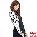 【BOBSON】女款印花布長袖上衣(32080-81)