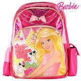 芭比Barbie 魔力甜心護脊書包C-粉紅