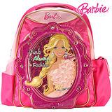 芭比Barbie 繽紛立體護脊書包C-紅
