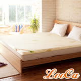 【一元加購】LooCa旗艦網布2.5cm天然乳膠床墊(單人3尺)