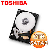 Toshiba東芝 2TB 64M 3.5吋 SATA3硬碟(DT01ACA200)