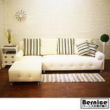 【Bernice】霍爾精緻L型沙發-左右任選