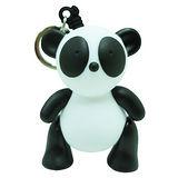 【BabyTiger虎兒寶】giimmo魔幻七彩玩伴LED鑰匙圈-熊貓胖布Bamboo