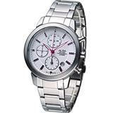 ALBA 雅柏 粉紅時尚 計時腕錶 YM92-X258S AF8T13X1