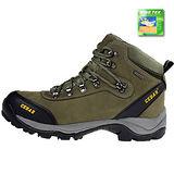 雪松RAN(CEDAR)款101K軍綠(KINGTEX全防水)男女鞋情侶鞋專櫃正品防水防滑厚真牛皮戶外鞋登山鞋露營鞋