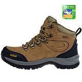 雪松RAN(CEDAR)款131K深棕(KINGTEX全防水)男女鞋情侶鞋專櫃正品防水防滑厚真牛皮戶外鞋登山鞋露營鞋