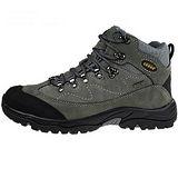 雪松RAN(CEDAR)款105灰色男女鞋情侶鞋專櫃正品防水防滑厚真牛皮戶外鞋露營鞋徒步鞋休閒鞋