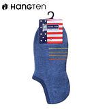 HANG TENHT4橫線運動襪 藍(22~24cm)