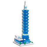 《Nano Block迷你積木》【世界主題建築系列】NBH-059台北101大樓