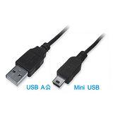 Dr.AV USB 2.0 Mini USB 充電傳輸連接線 (1.2米)