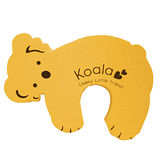 【BabyTiger虎兒寶】動物造型幼兒安全防護門擋/門夾/門卡-黃色無尾熊