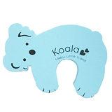 【BabyTiger虎兒寶】動物造型幼兒安全防護門擋/門夾/門卡-藍色無尾熊