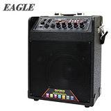 [促銷] EAGLE 行動藍芽肩帶式擴音音箱(ELS-2098B) 送原廠動圈麥克風二支(EDM-F1)