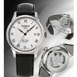 TISSOT Le Locle 力洛克圖騰紋機械錶 T41142333