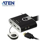 ATEN CS692 2埠USB Switch DVI多電腦切換器/可同步共享喇叭、麥克風