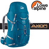【英國 LOWE ALPINE】新款 AXIOM Kamet 65:75 輕量透氣健行登山背包(含背包套 耐磨.抗撕裂)省力.自助旅行.縱走/FBP62DE 丹寧藍