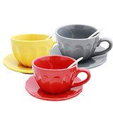 PUSH! 餐具1380度高溫燒製環保耐磨瓷咖啡杯(設計師設計款)一入