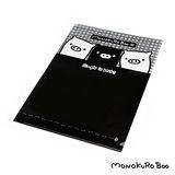(購物車)黑白豬文件塑膠套(A4)MK31210