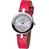 TISSOT 天梭 Pinky 粉彩系列時尚腕錶 T0842101611600