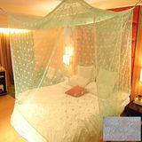 SHINEE 100%台灣製 高密度單人3.5尺內格蚊帳- 蜜桃粉圓點(買就送棉質綁繩x4)