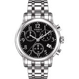 TISSOT Dessport系列優雅計時腕錶(黑/38mm) T0502171105200