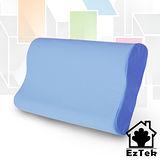 [輕鬆睡-EzTek] 竹炭釋壓記憶枕-水藍色