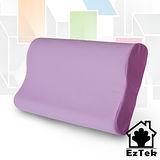 [輕鬆睡-EzTek] 竹炭釋壓記憶枕-淡紫色